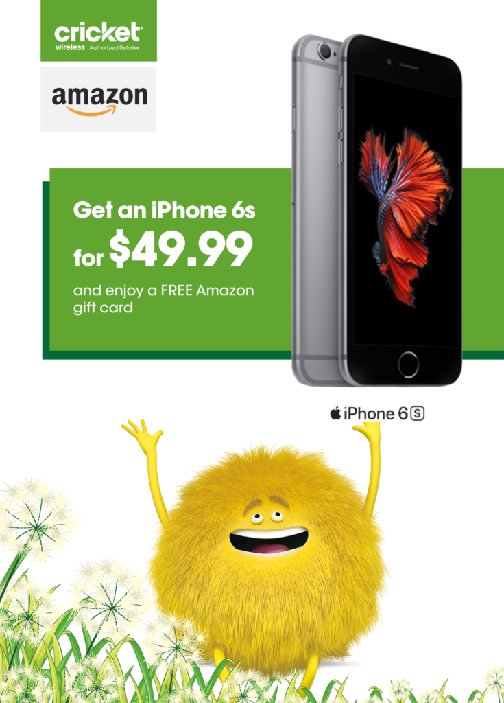 iPhone 6s landing page