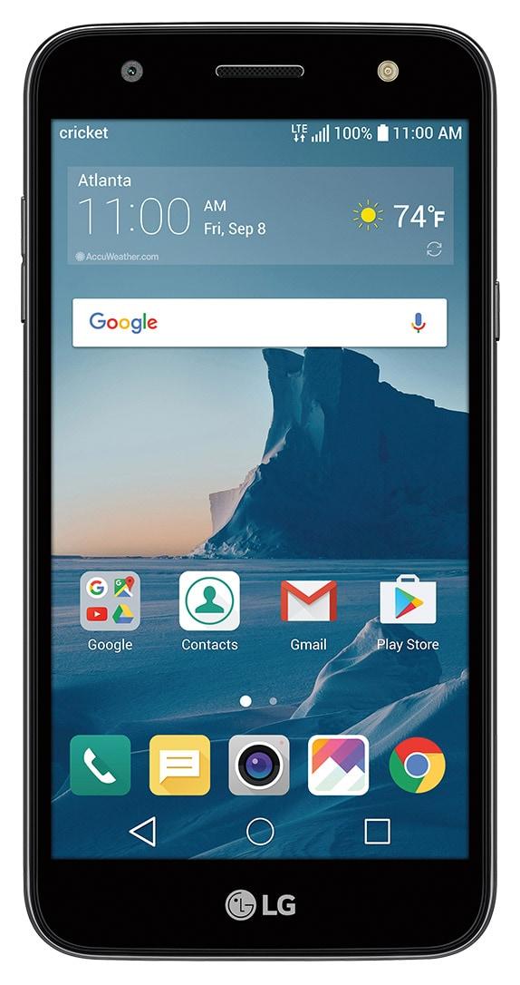 LG X charge smartphone